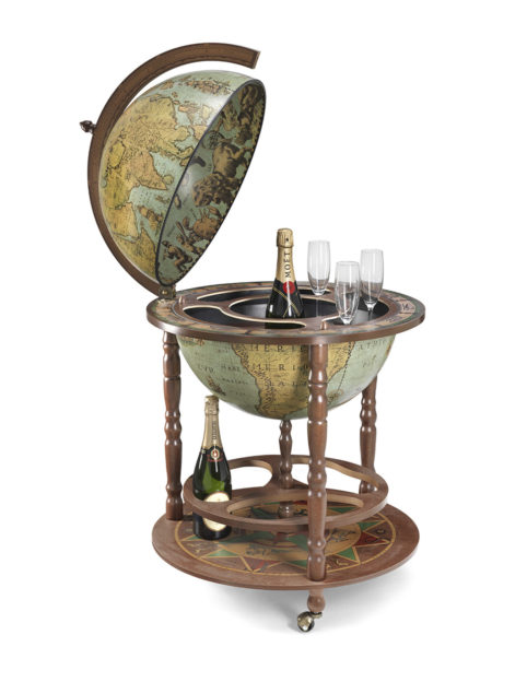 Image of the laguna color Calipso large floor globe bar