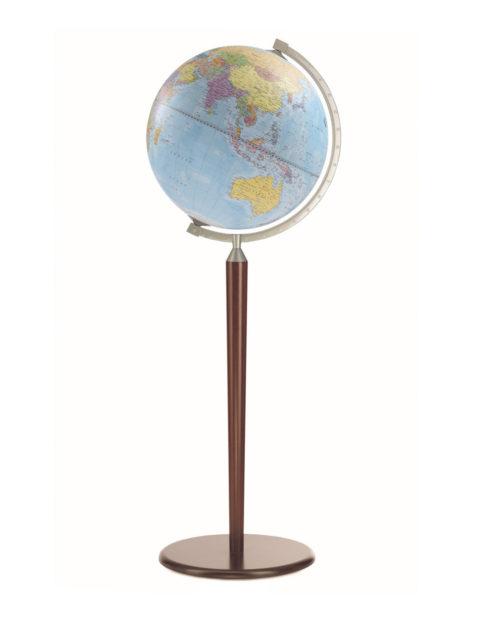 Image of Light Blue l Vasco da Gama Floor-Standing World Globe Z.920.01