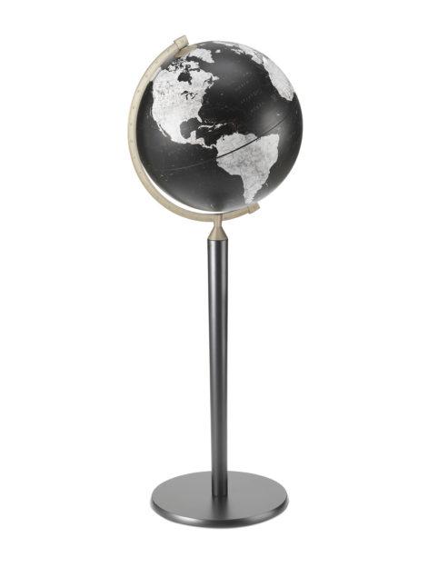 Image of Black Vasco da Gama Floor-Standing World Globe Z.920-WB.BLK